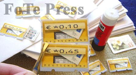 Briefmarke aus dem Automarken