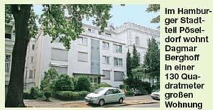 Wohnung von Dagmar Berghoff