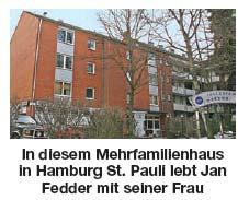 Wohnung Jan Fedder