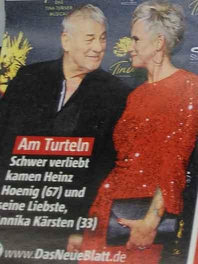 Foto von Schauspieler Heinz Hoenig