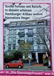 Wohnung von Hannelore Hoger