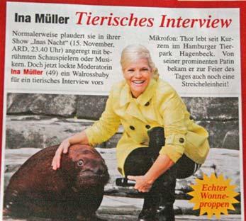 Foto von TV-Talkerin Ina Müller