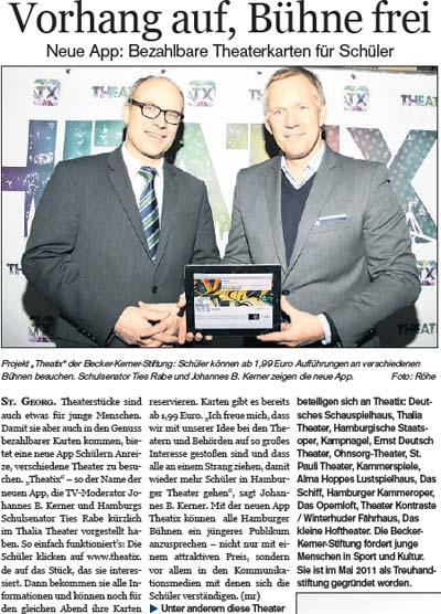 Neue App für Hamburgs Schüler