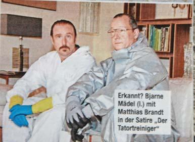 Foto vom Tatortreiniger