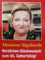 Foto von Marianne Sägebrecht