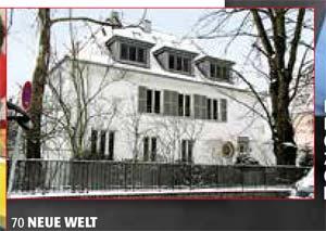 Villa von Ex-Bundeskanzler Gerhard Schröder