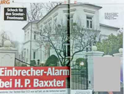 Villa von H. P. Baxter