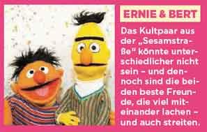 Foto von Erni und Bert