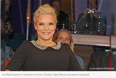 Foto von TV-Moderatorin Ina Müller