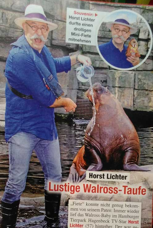Foto von TV-Moderator Horst Lichter