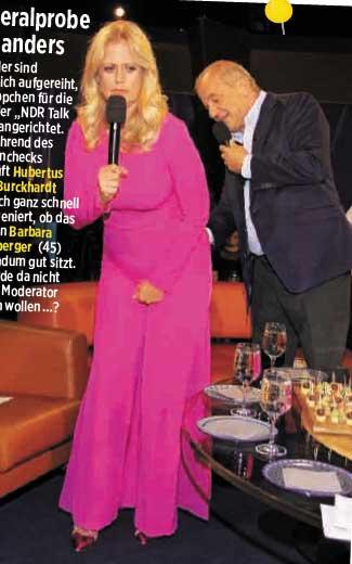Foto von TV-Moderatorin Barbara Schöneberger