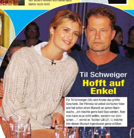 Foto von Til Schweiger und Tochter